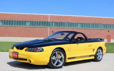 1998 Ford Mustang Cobra Convertible