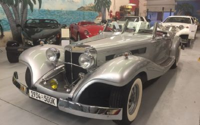1934 Mercedes-Benz 500K Special Roadster Replica