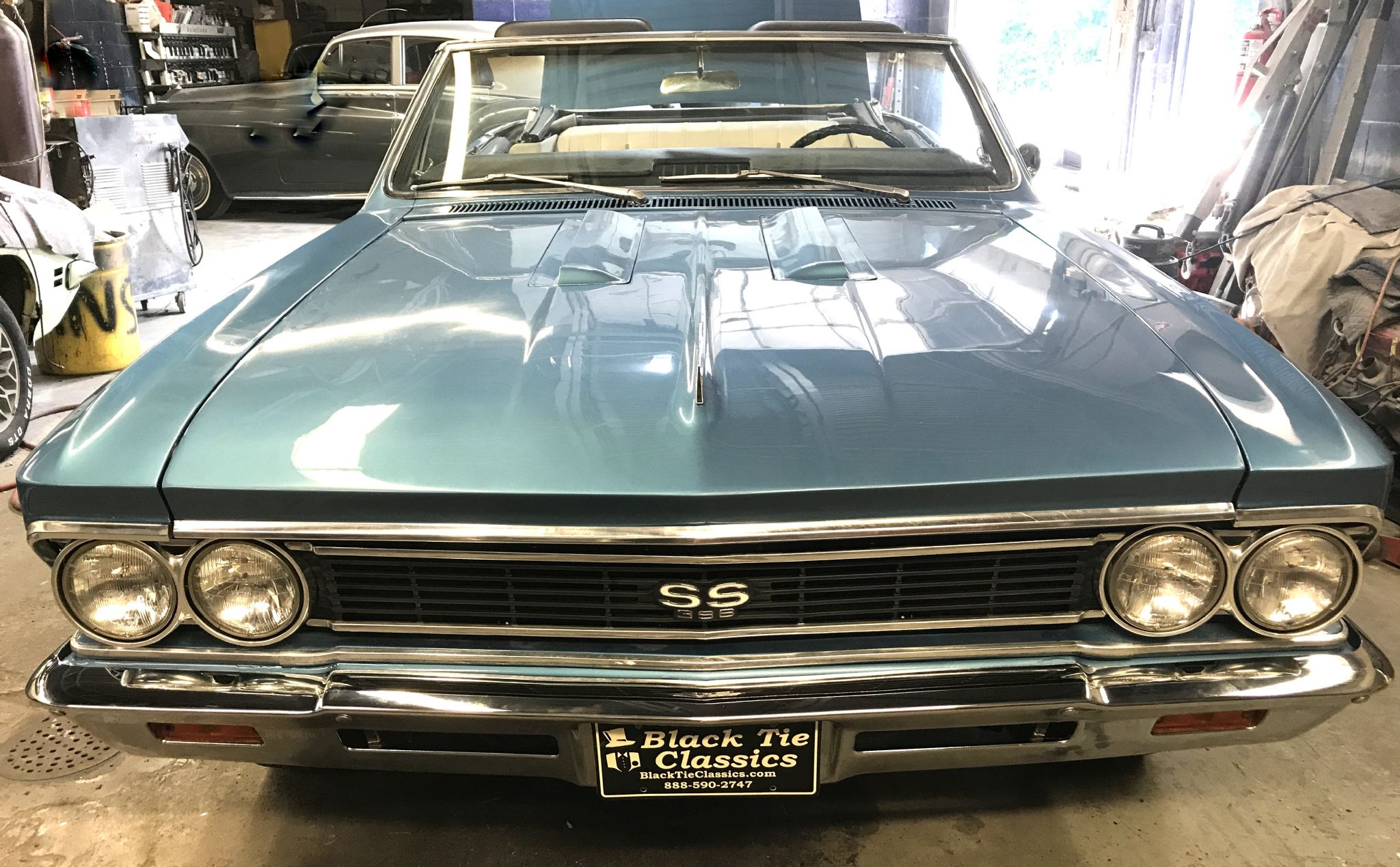 1966 Chevrolet Chevelle Ss Trim 396 For Sale Chevy Thumbnail 1