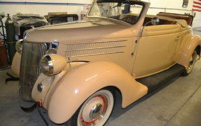 1936 Ford Deluxe Model 68 Cabriolet Convertible